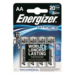 Energizer Ultimate Lithium AA batteri 4 pk.