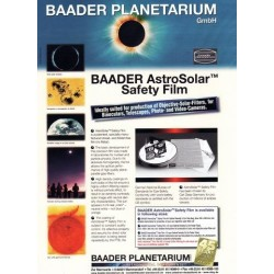 Baaders AstroSolar SafetyFilm