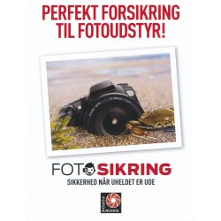 Fotosikring for KR. 0-1.500,- 2 år