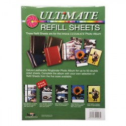 Ultimate Combination 10 stk refill ark 10x15cm sort