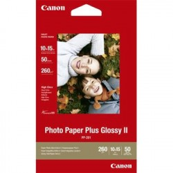 Canon Photo Paper Plus Glossy II PP-201 10X15