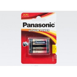 Panasonic 2CR5 6V Lithium Power Fotobatteri