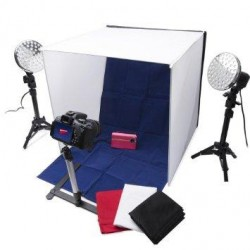 Polaroid Pro Table Top LED Photo Studio Kit