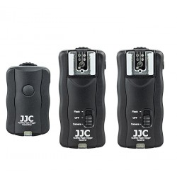 JJC JF-U2 3i1 Wireless Remote Control & Flash Trigger